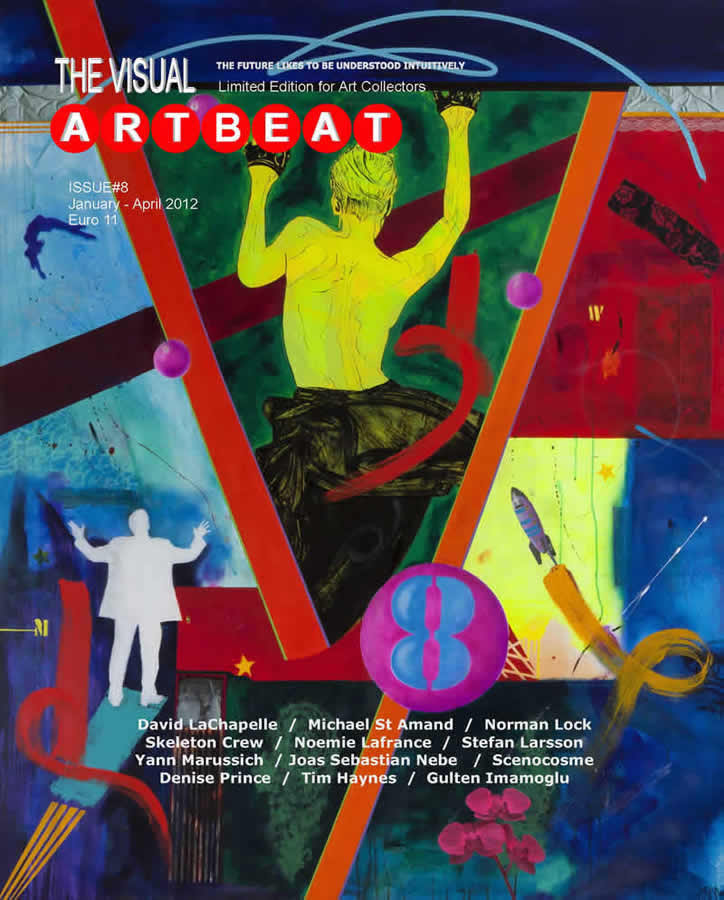 Michael St Amand - Visual Artbeat Magazine Feature story - Austria